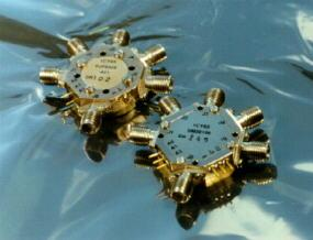 passive microwave products including pin switches, isolators, circulators, terminations, loads, adapters, filters